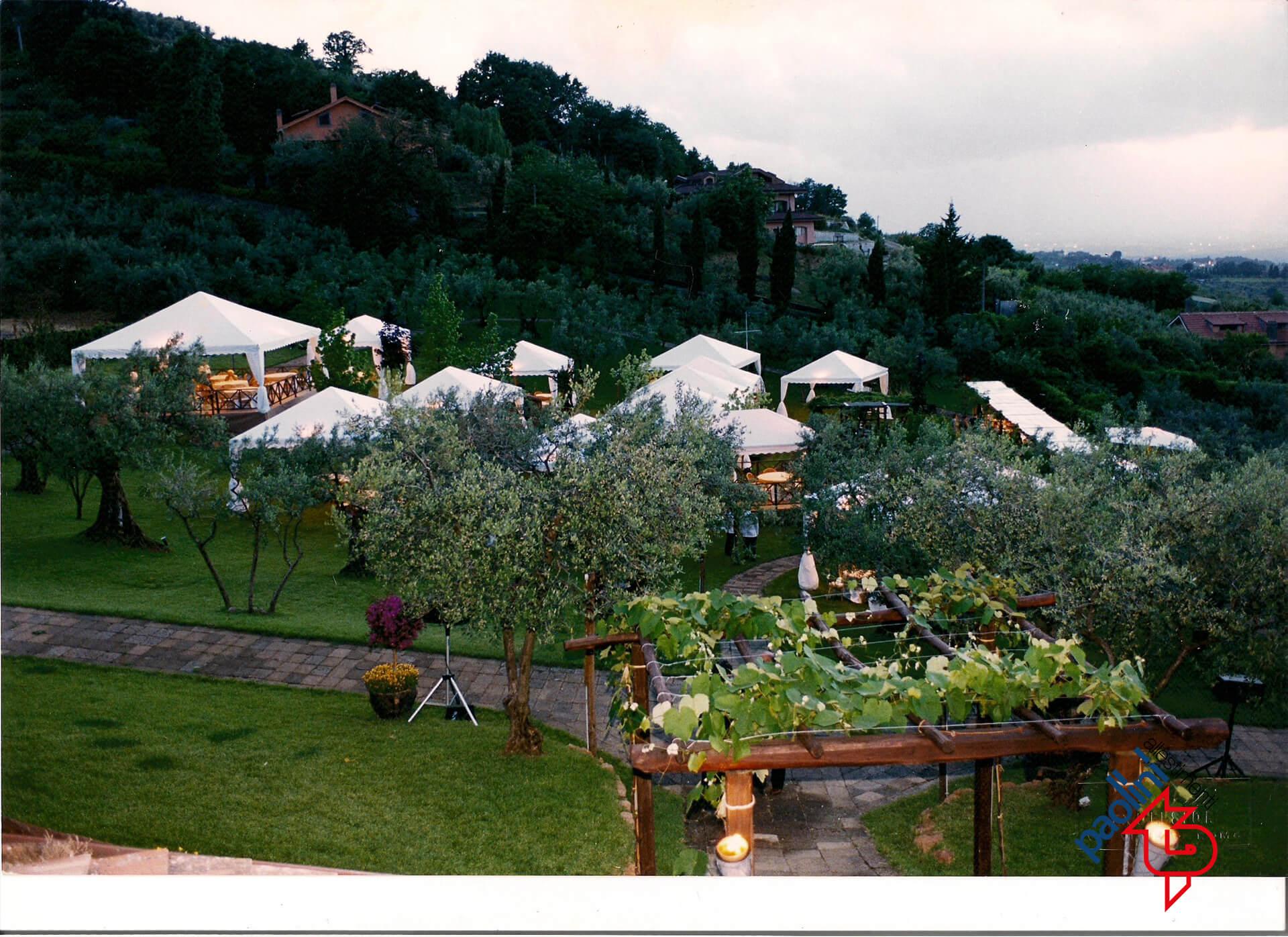 Noleggio gazebo roma gazebo per feste e matrimoni for Paolini tensostrutture
